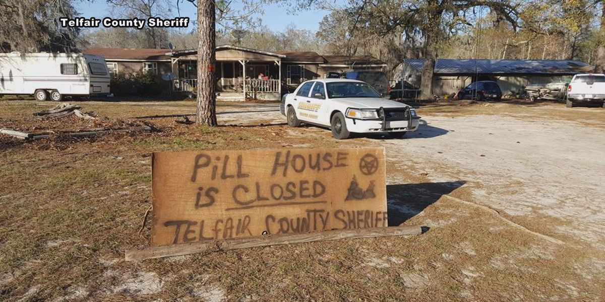 Pill operation shut down in Telfair, sheriff sends unique message