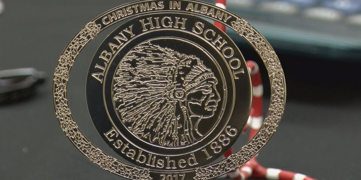 Easterseals unveils Albany High Christmas ornament