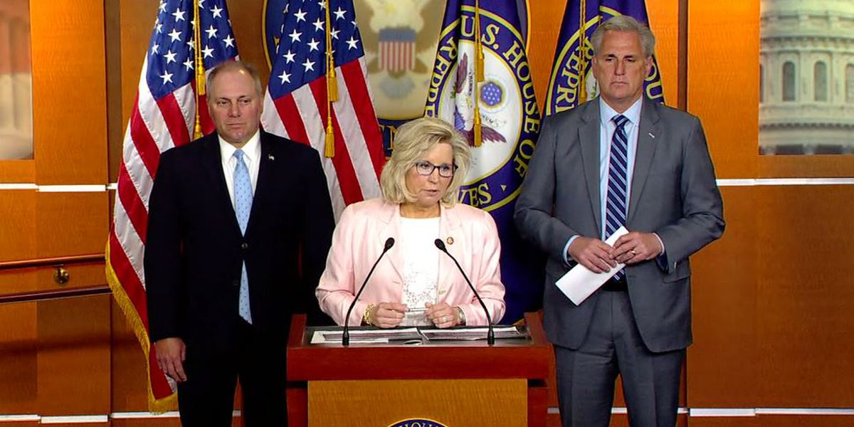 House GOP ousts Rep. Liz Cheney from leadership job