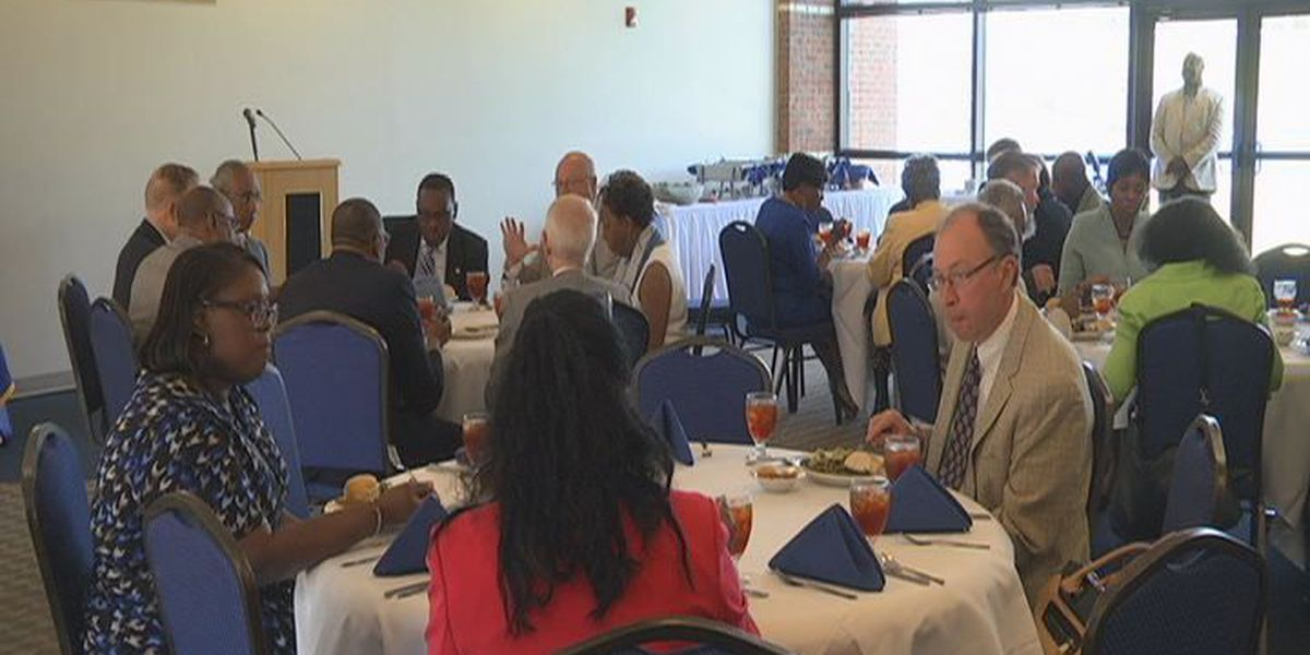 Legislative luncheon celebrates future fine arts center