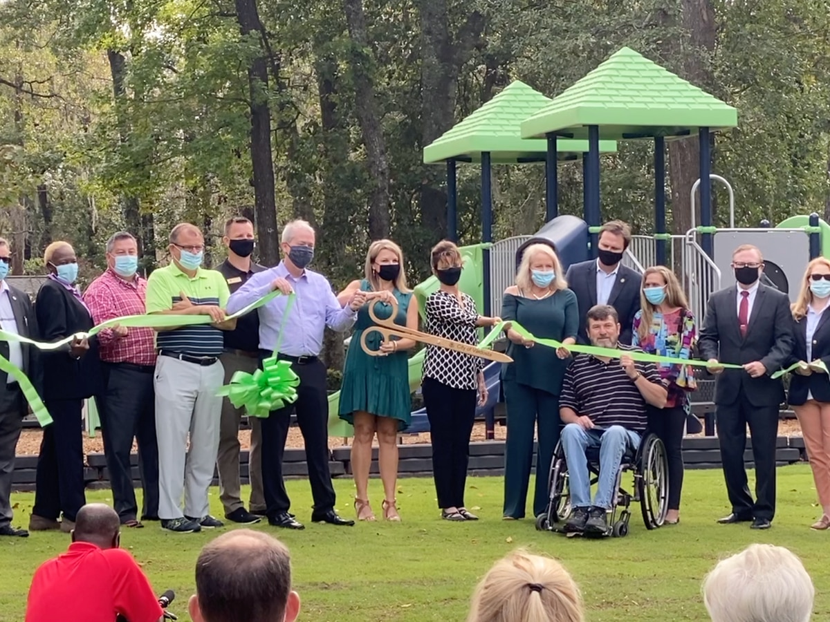 VLPRA hold ribbon-cutting ceremony for Taylor-Cowart Park renovations