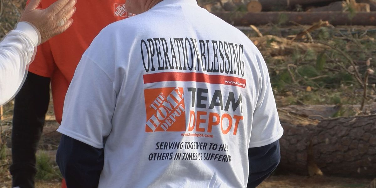 Home Depot, Operation Blessing team up to help storm victims