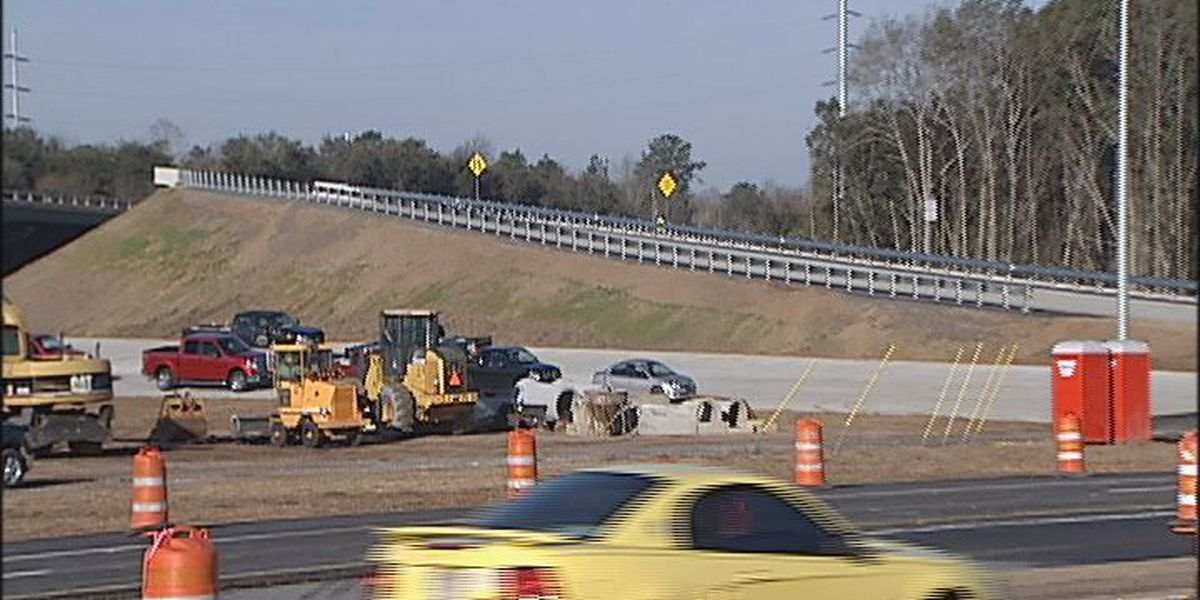 Westbound Ramp open on Jefferson interchange, Liberty Bypass
