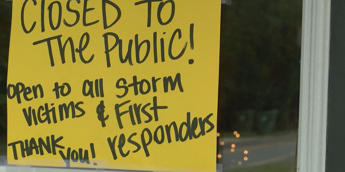Adel restaurant opens for storm victims, first responders