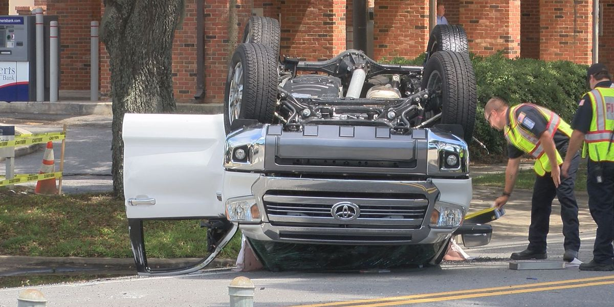 UPDATE: Injured man identified in Moultrie rollover wreck