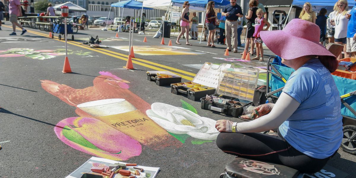 AMA's ChalkFest returns Saturday on Pine Avenue