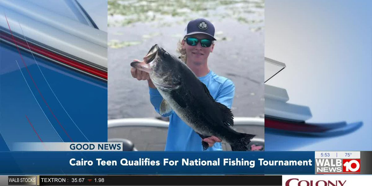 Cairo teen enters national fishing contest