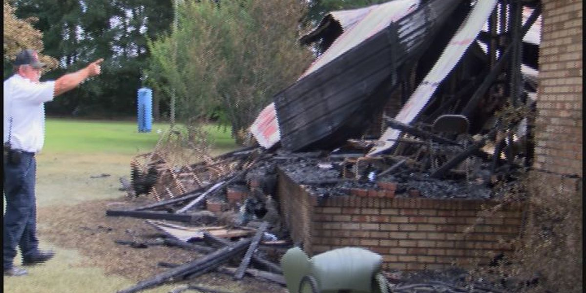 'Angel' saves woman from burning home