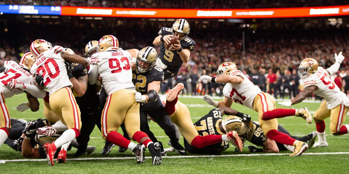 Saints come out on short end of shootout against 49ers