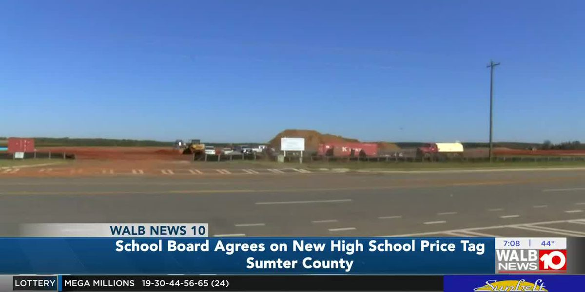 Sumter school board agrees on new high school price tag