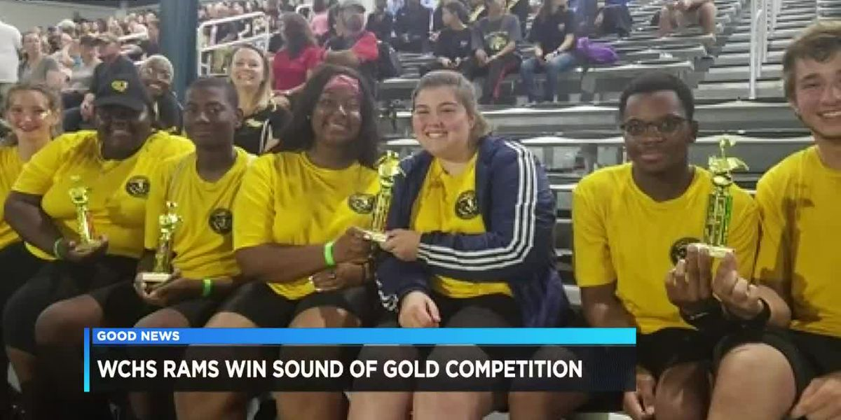 GOOD NEWS: WCHS SOUND OF GOLD AND GOOD NEWS: WCHS CHEERLEADERS