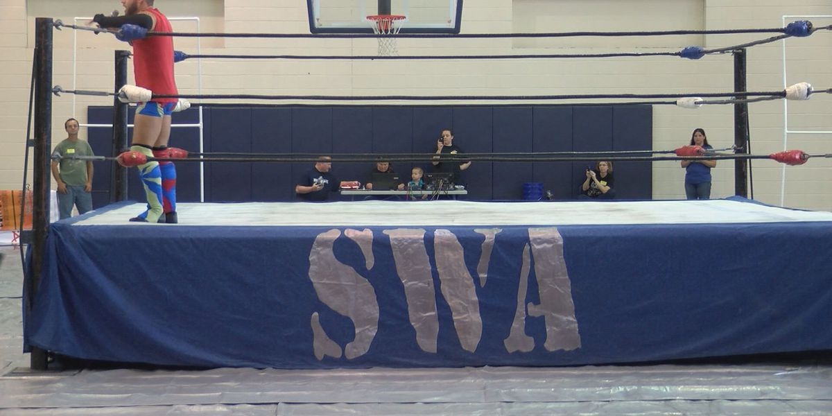 Wrestling match promotes anti-bullying campaign