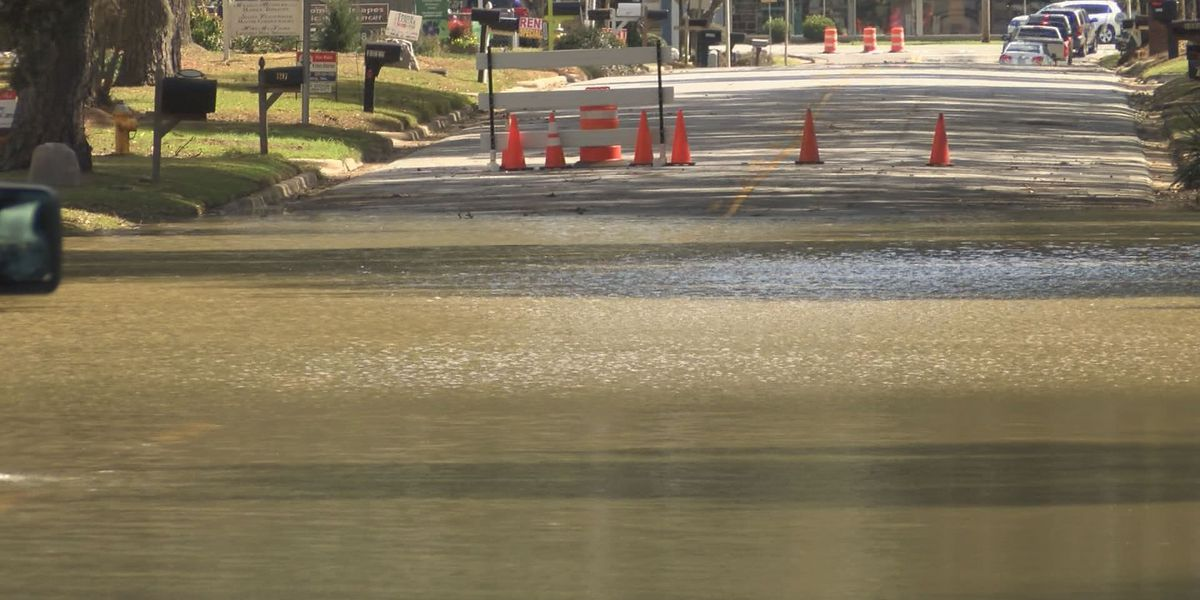 Albany deals with flooded roads after severe weather
