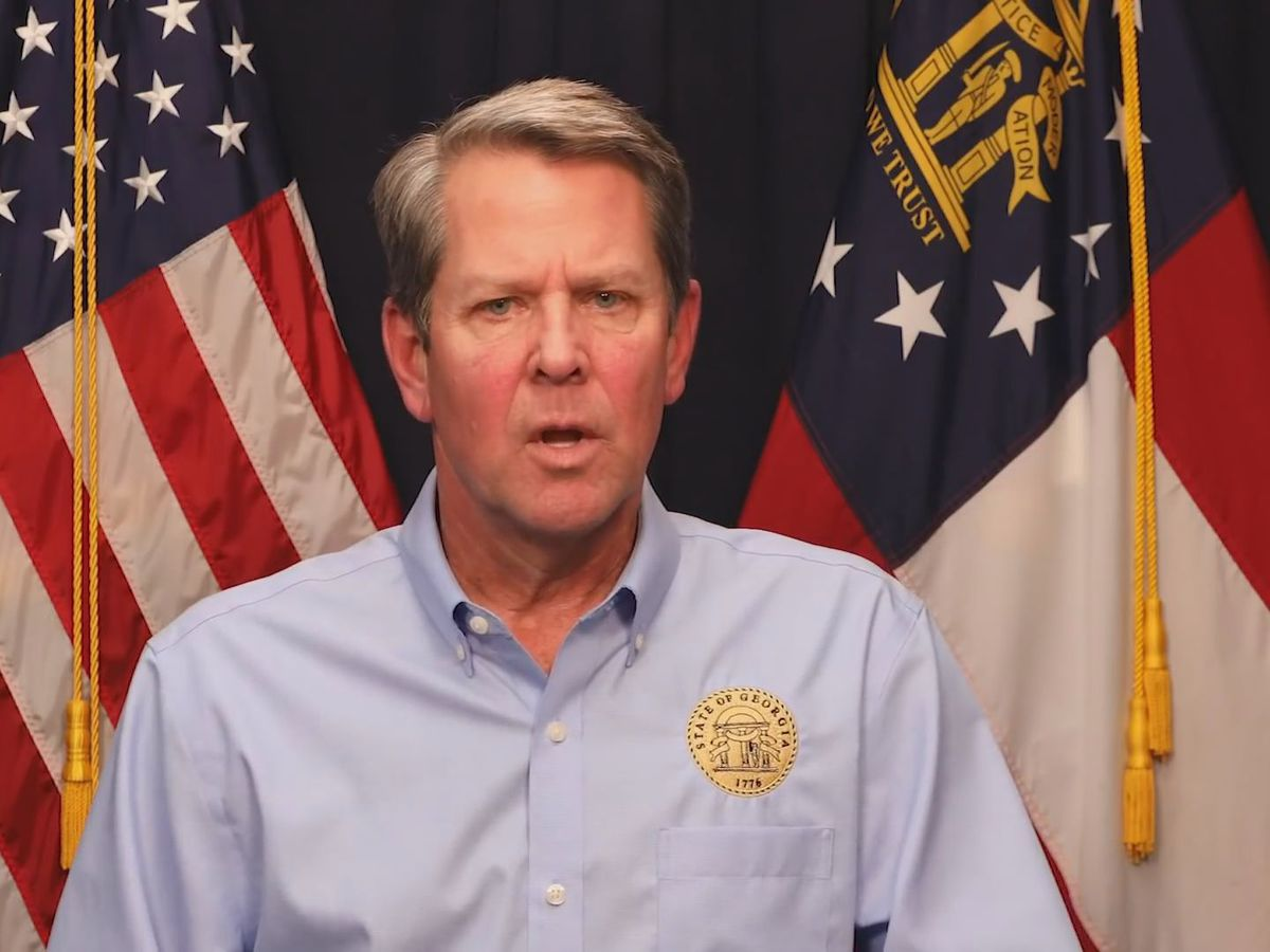 WATCH LIVE: Kemp, other top state officials address the latest on COVID-19