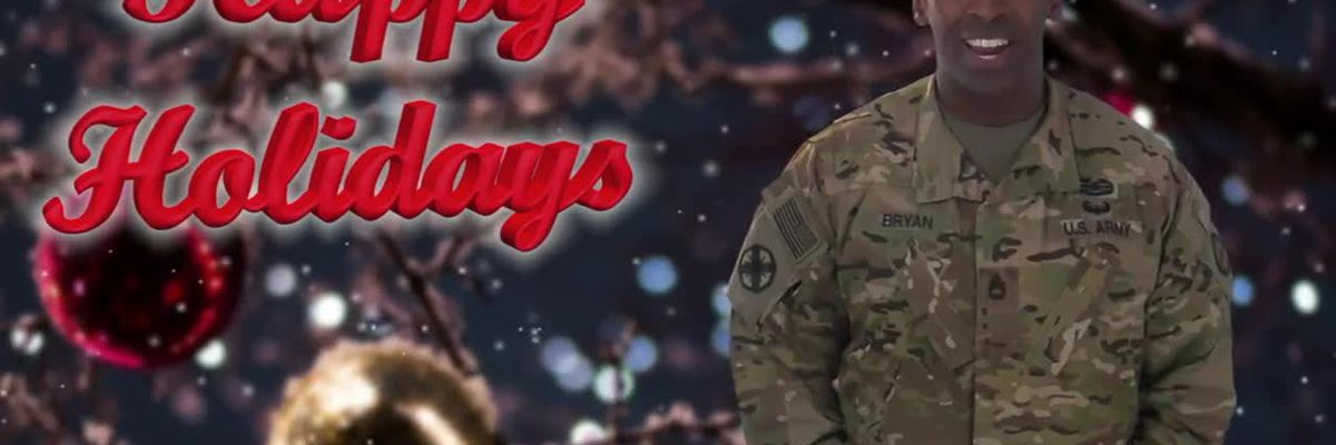 Military Greetings from U.S. Army Sgt. 1st Class Edward Bryan