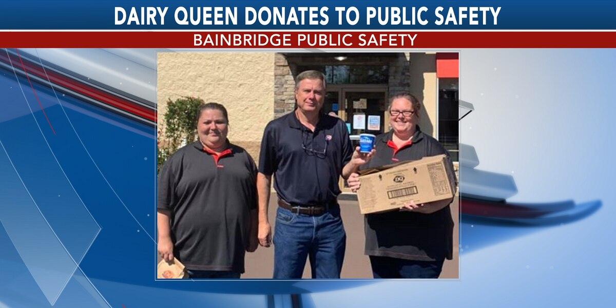 Bainbridge Dairy Queen donates treats to law enforcement