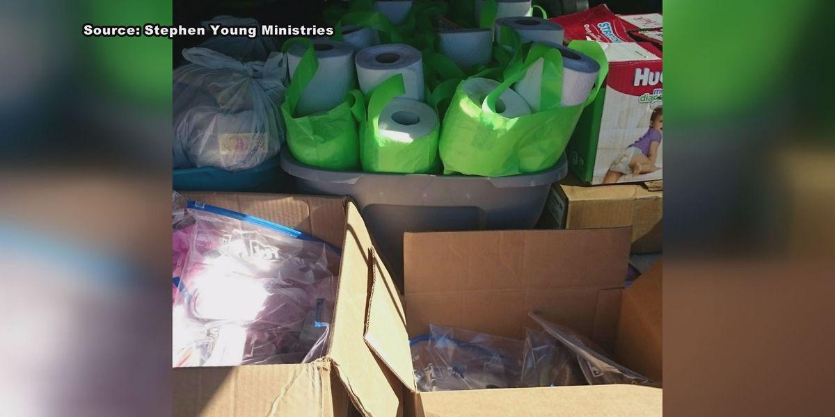 Volunteers push to help Albany storm victims rebuild