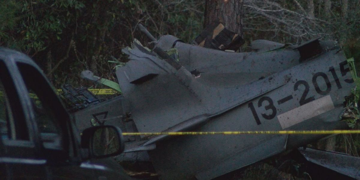 Moody fighter squadron stays grounded day after crash