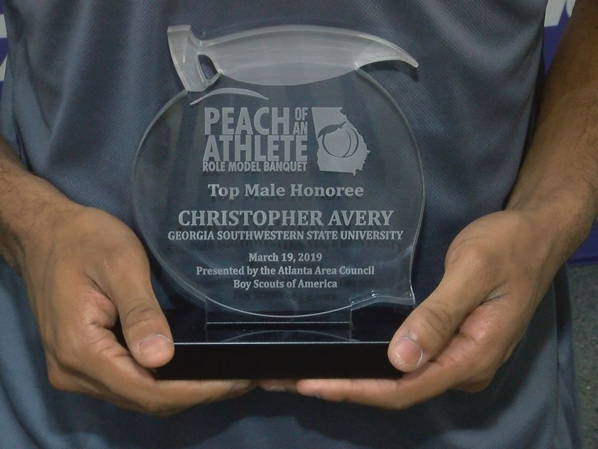 GSW athlete honored with 'Peach of an Athlete' award