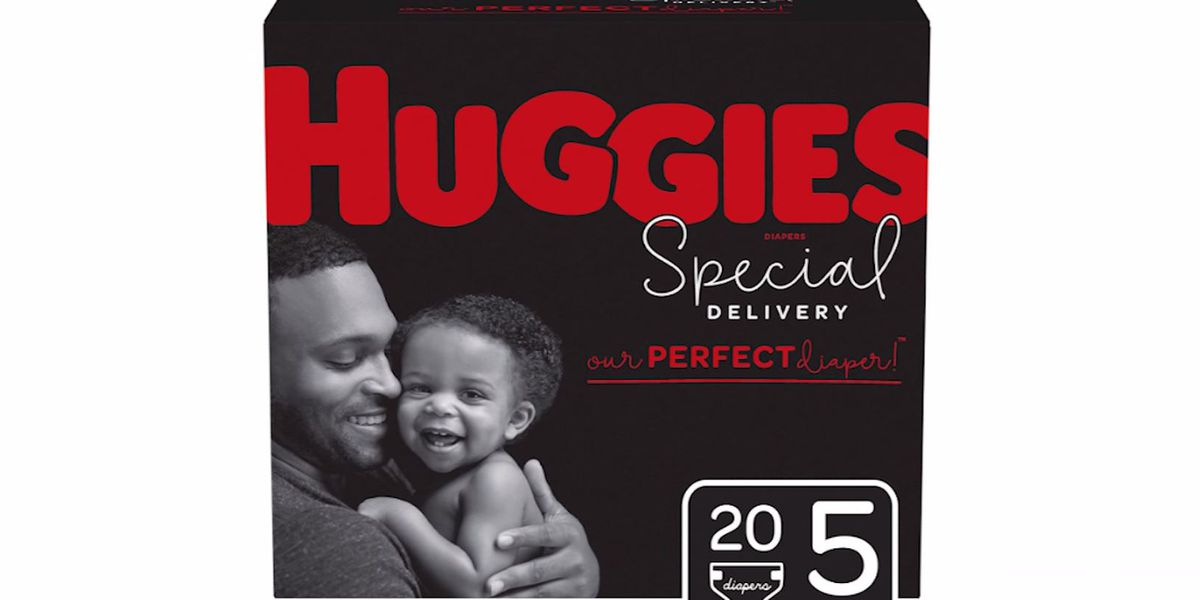 Huggies puts dads on diaper boxes for first time