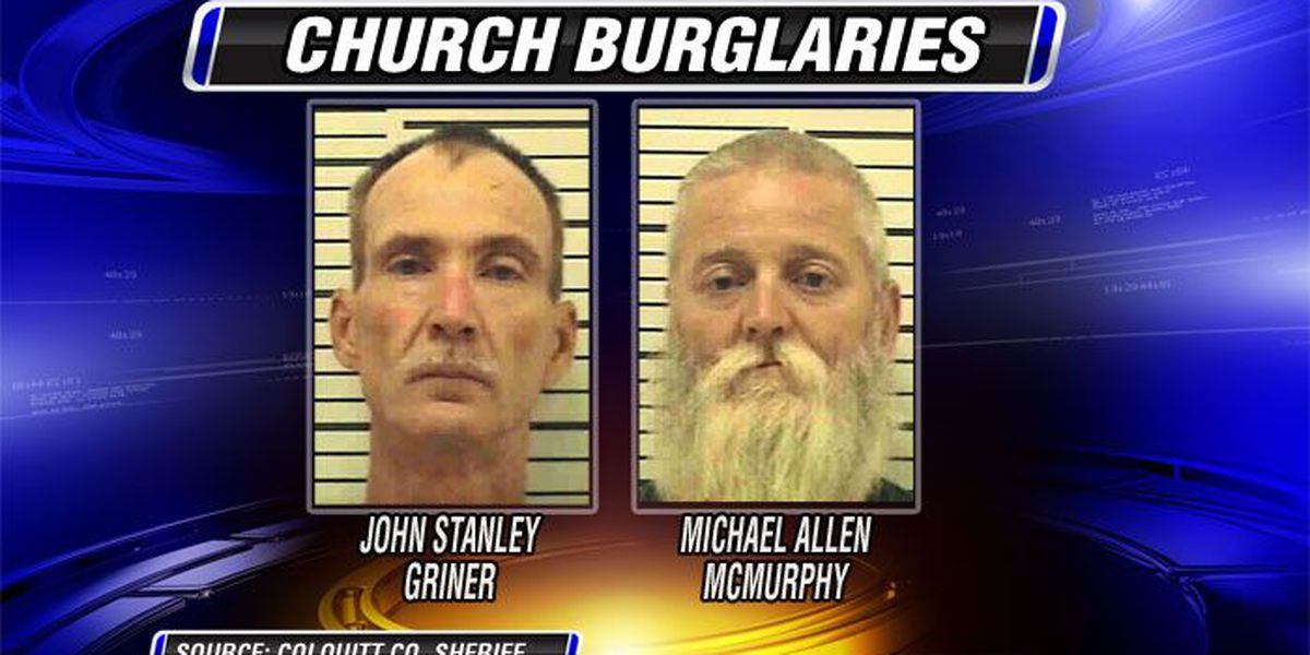 Two arrested for Colquitt Co. church burglaries