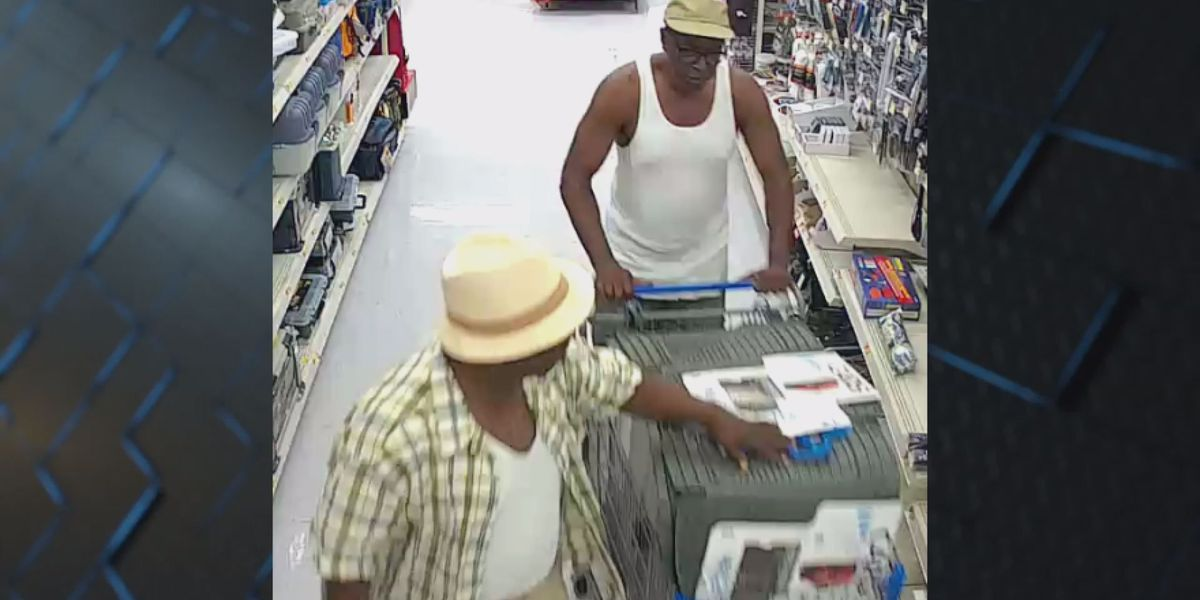 Moultrie police search for Walmart shoplifting suspects