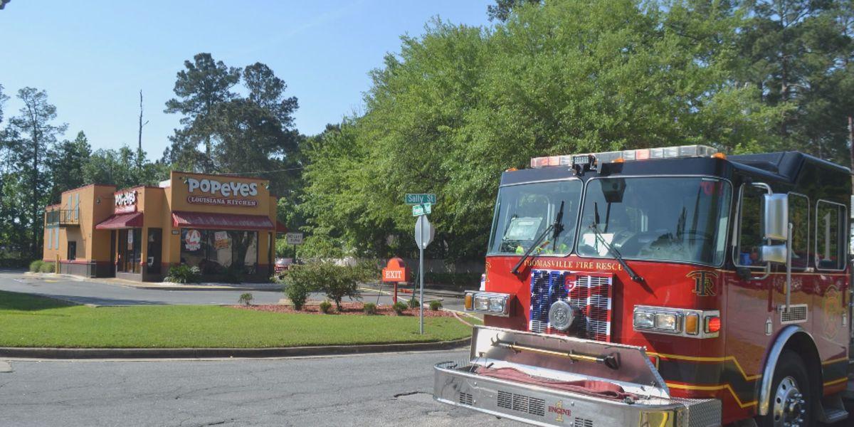 Cause of Thomasville Popeyes fire under investigation