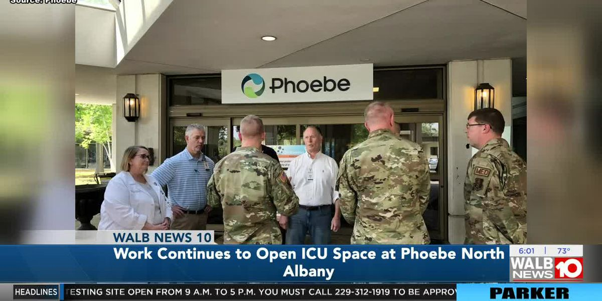 Work continues to open ICU space at Phoebe North