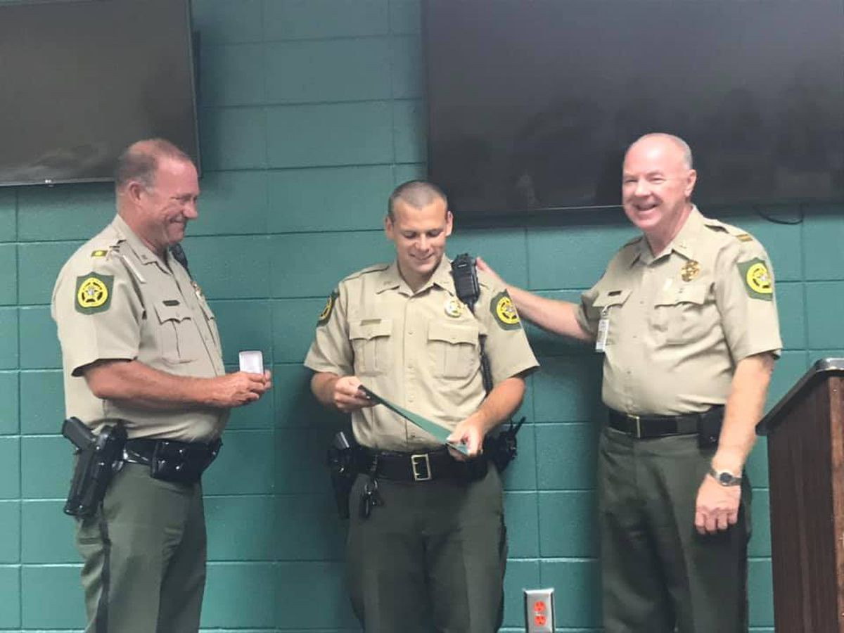Crisp Co. deputy recognized for exceptional courage