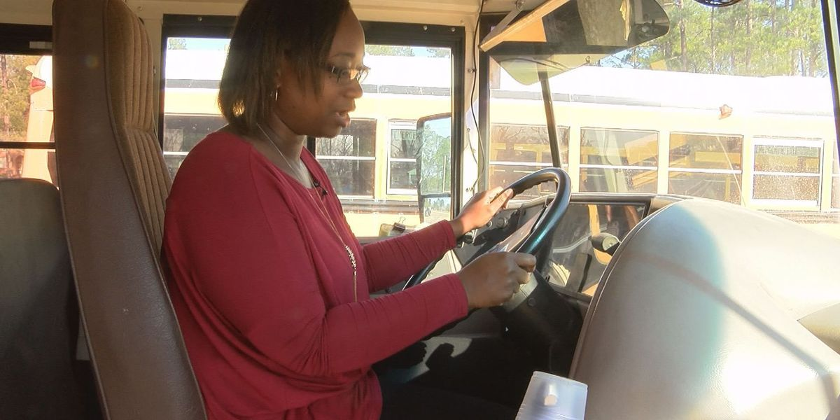 Teacher takes the wheel when bus driver passes out