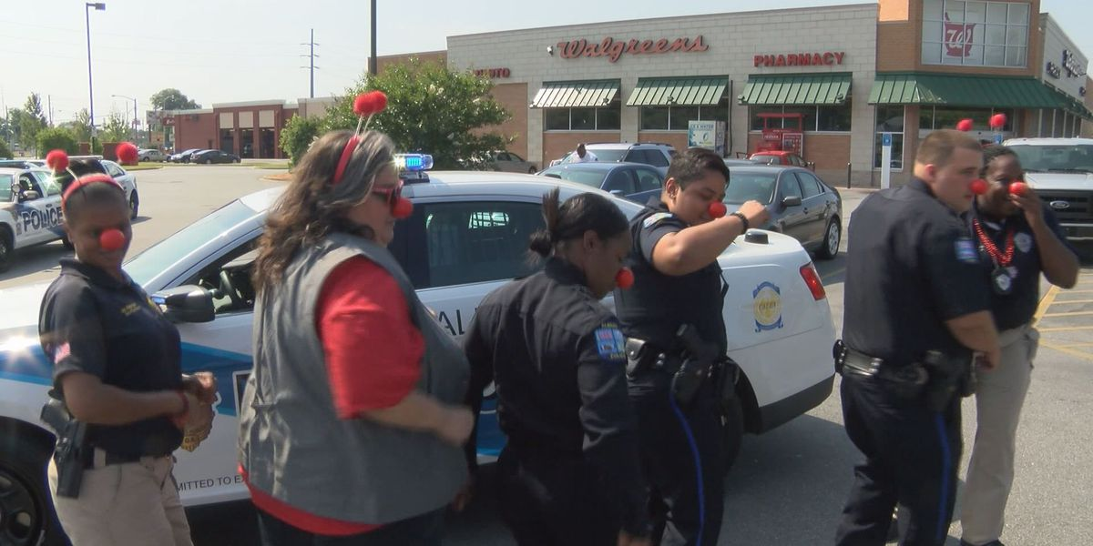 Albany Police rock red noses for a good cause