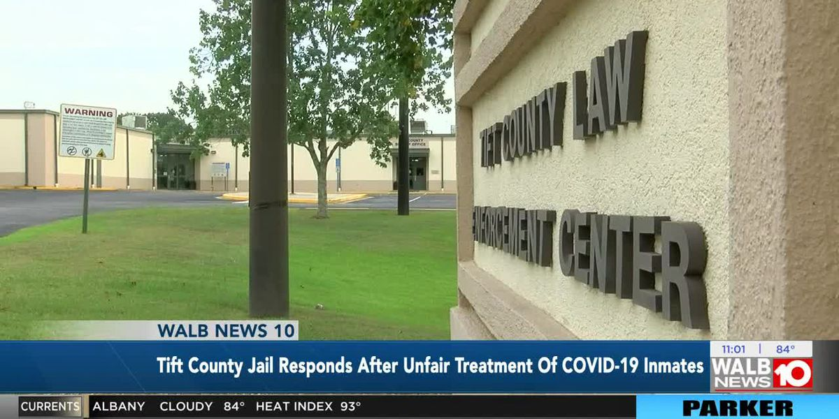 Tift Co. Sheriff's Office responds after inmate's family concerned about COVID-19 virus