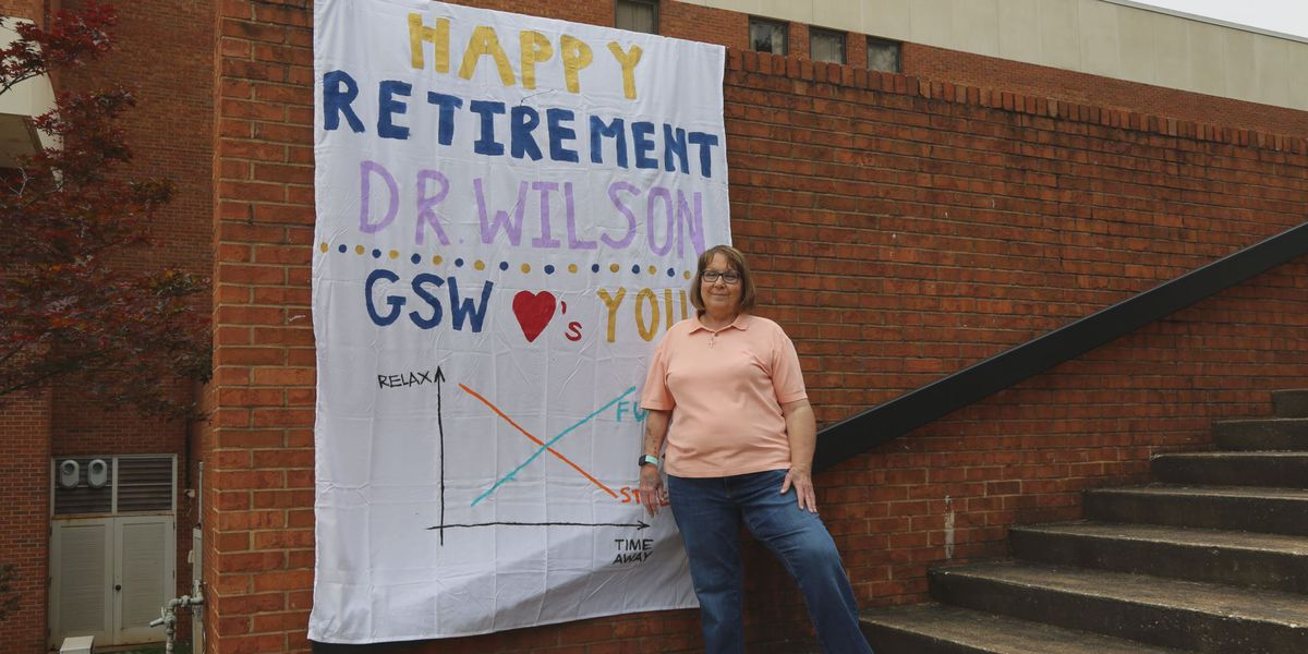 GSW dean surprised with virtual retirement party, drive-thru parade