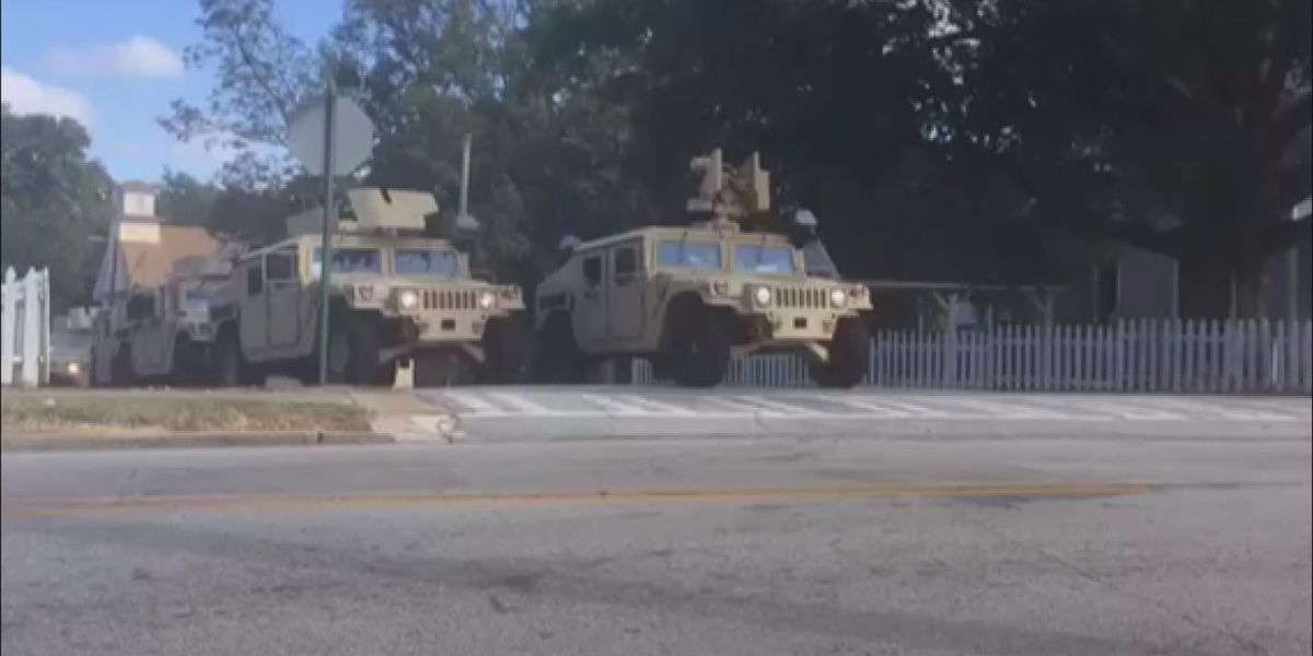 Georgia National Guard troops mobilized to assist with storm preps