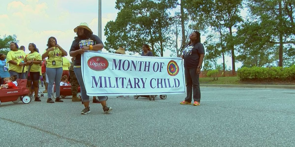 MCLB holds Month of the Military Child Parade