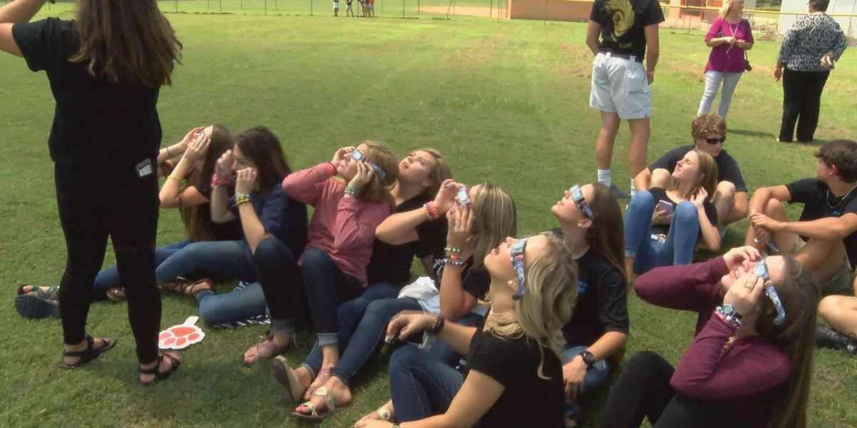 Student at Westwood Schools in awe over eclipse experience