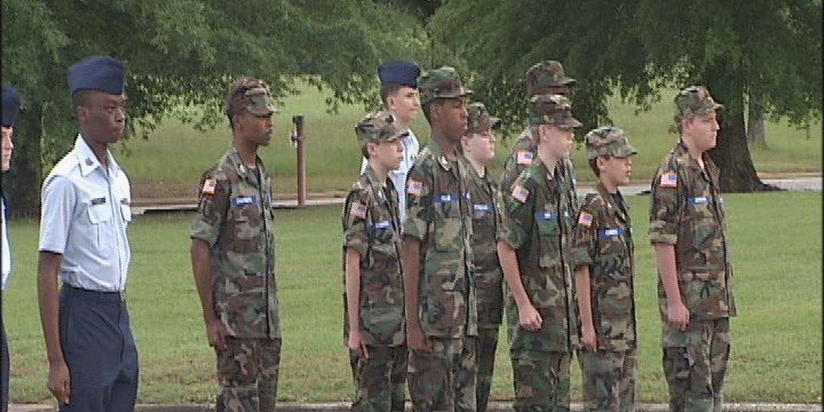 Change of command at Albany Composite Squadron Civil Air Patrol Cadet Program