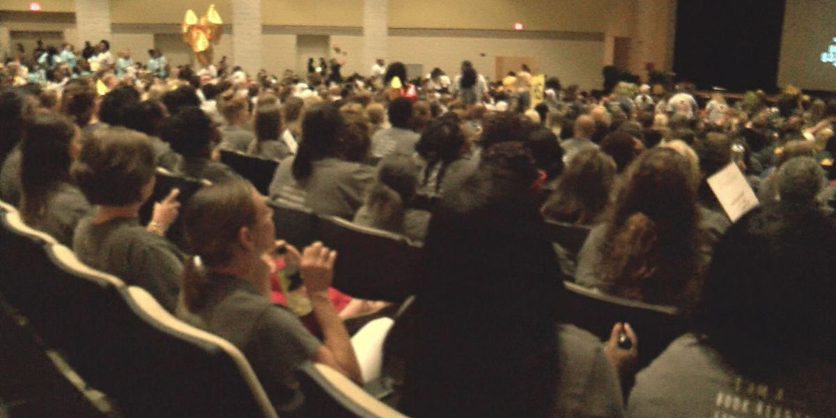 Teachers come together for convocation in Valdosta