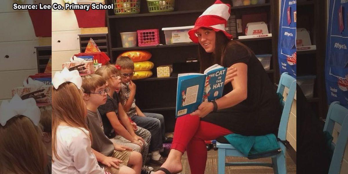 Lee Co. Primary School celebrates Read Across America Week
