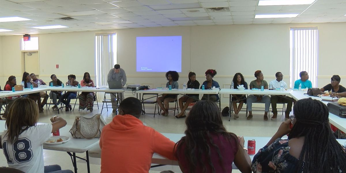 Red Cross hosts lunch and learn for Terrell Co. students