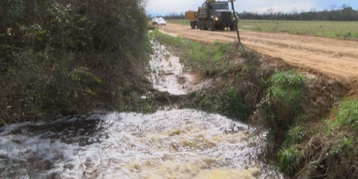 Lee County tries to dry out after deluge