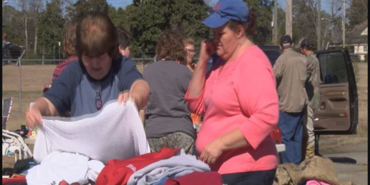 Yard sale held for Worth County Fire Victims