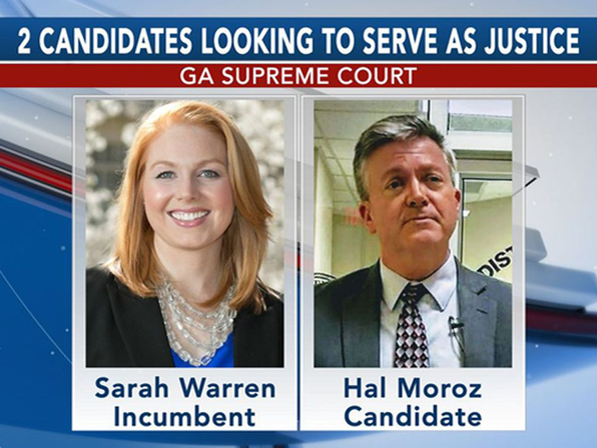 2 candidates look to serve as Ga. Supreme Court justice