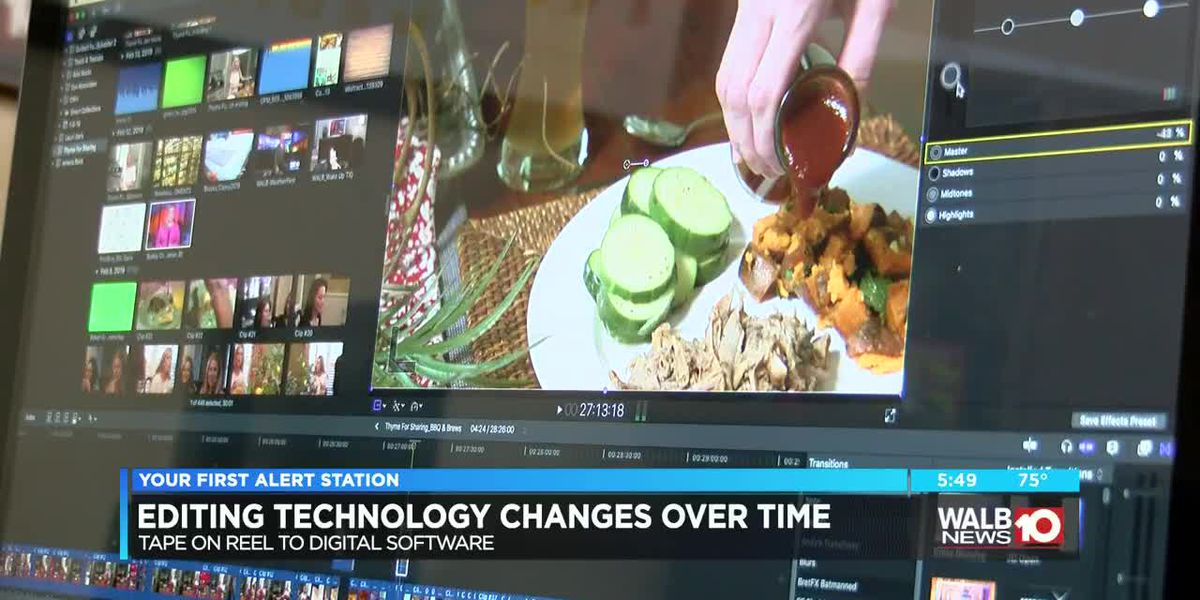 Technology changes for WALB over the years