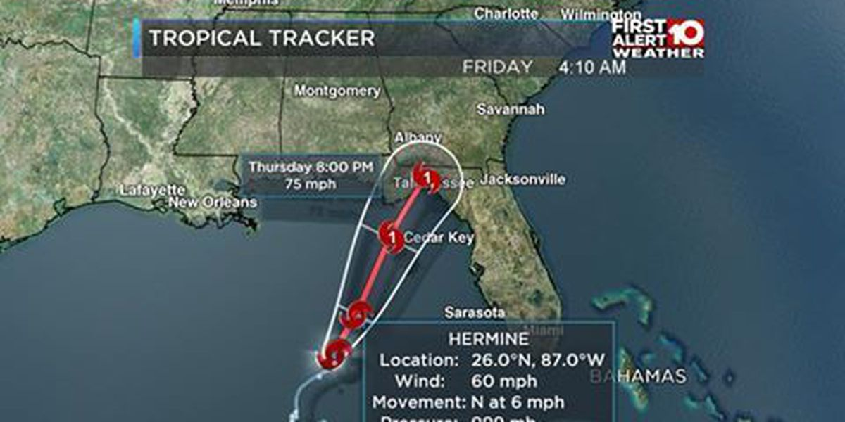 LIVE on TIG: Hermine to make landfall as Hurricane