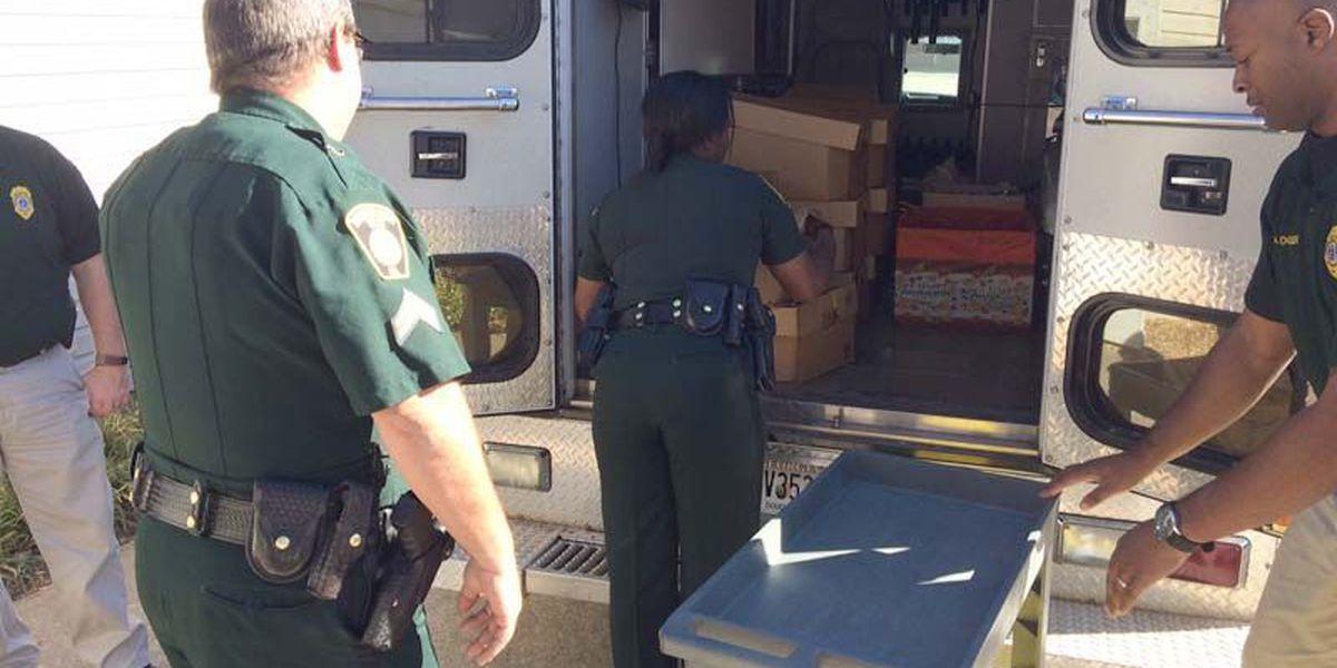 Dougherty Co. Police help Saint Clare's