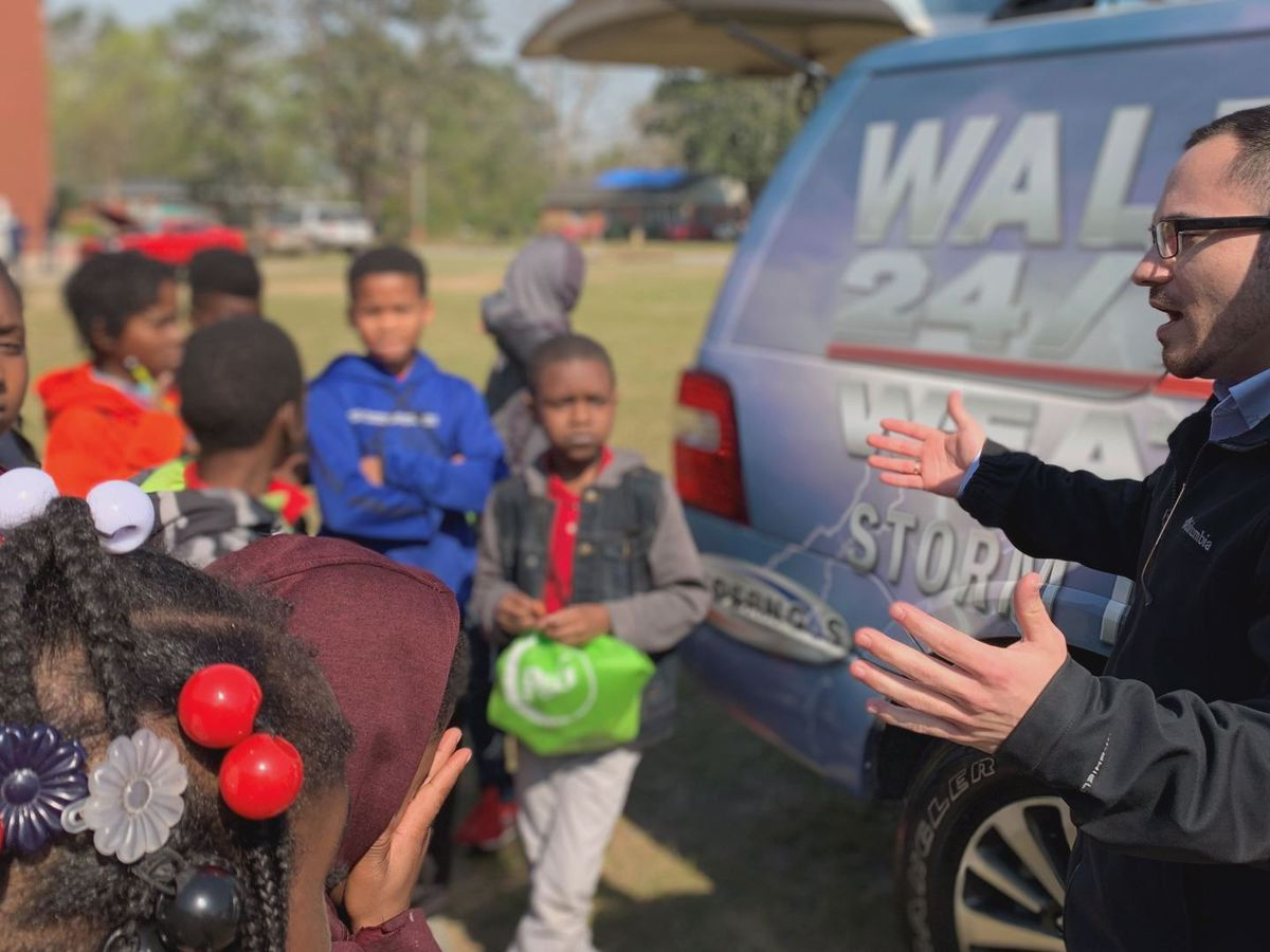 WALB visits local elementary school's career day