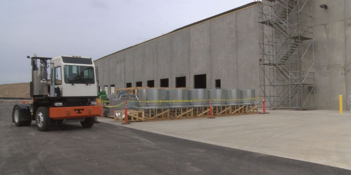 P&G showcases new warehouse, one year after tornado