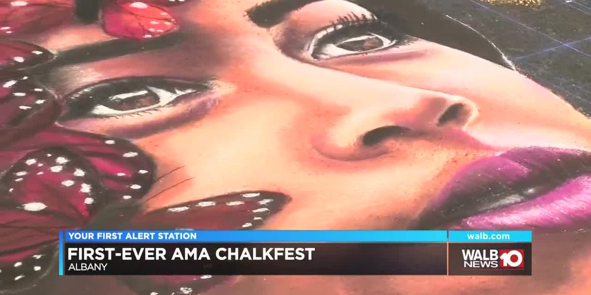 Inaugural AMA ChalkFest raised funds for educational programs