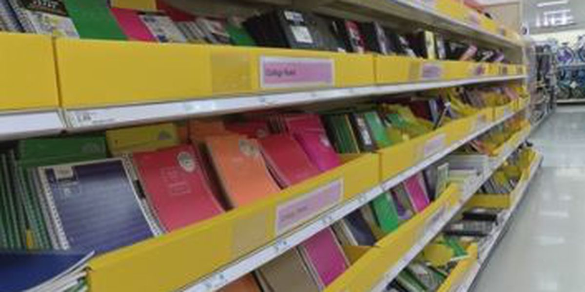 Parents pay almost $700 on average for back-to-school supplies, according to National Retail Federation